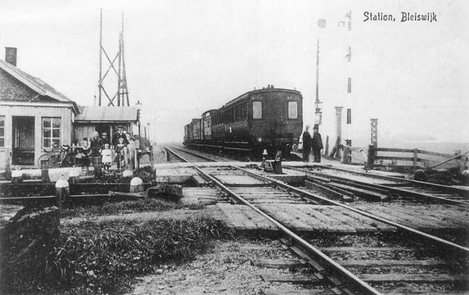 Station Bleiswijk, Links v Spoor Bleiswijk Rechts v Spoor Kruisweg